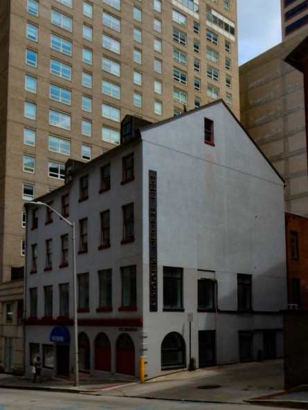 The Daily Record. I always like seeing little buildings in a downtown setting.