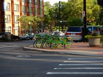 After the ballgame, I spied a gaggle of Lime Bikes. I had time for another ride through the park, before my train. Why not?