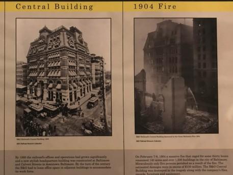 This was the original B&O headquarters, and its tragic fate,