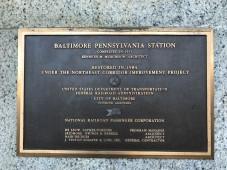 Restoration plaque.