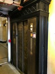 Elevator to light rail. I think I'll take the stairs.