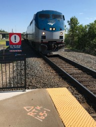 That's my ride. Amtrak carries CT Rail passengers on their regular runs.