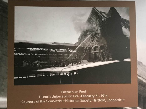 Union Station was gutted by fire a little over 100 years ago.