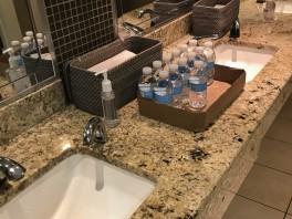 No water in the Men's Room sinks.