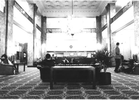 Lobby of the Lord Baltimore Hotel from NRHP nomination form.