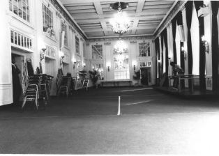Interior photo of Lord Baltimore hotel from NRHP nomination form.