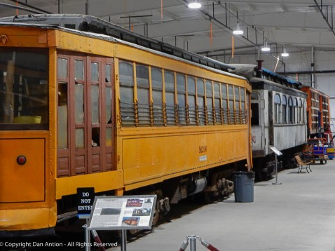 I did a post from the PA Trolley Museum, but I have lots of trolley doors on a shelf in the fridge.