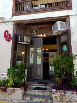 Also from St. Augustine, FL. This is one busy little entrance. It's an art gallery, so eclectic works.