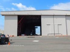 C-5 Maintenance hangar