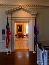 Entrance to the Senate chamber.