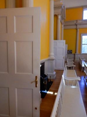 Door, door and door.