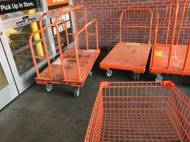 Home Depot is supposed to be open.