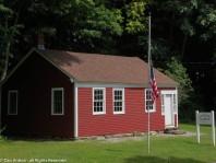Historic one-room school in Burlington.