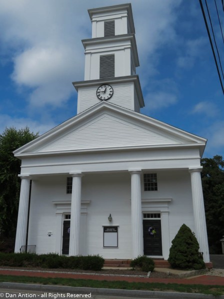 Burlington Congregational Church.