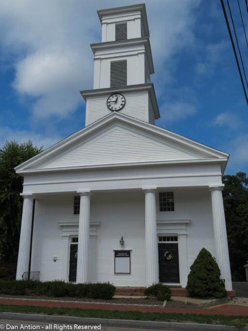 Burlington Congregational Church.