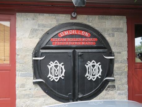 Boiler doors in Collinsville. CT