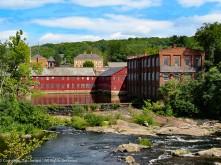 Collins Company Axe Factory.