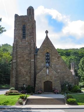St. Patrick Church. I love stone buildings.