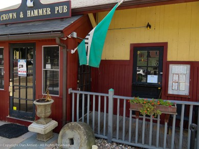 Crown & Hammer Pub.
