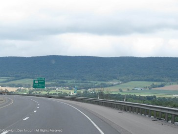 Central Pennsylvania offers some wonderful views.