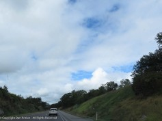 The sky was a mixed bag during most of the trip.