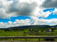 Central Pennsylvania is very pretty country.