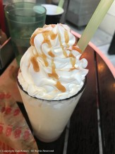 Bourbon milkshake
