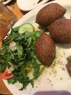 My Kibbie plate. Not as good as my grandmother's but not bad.