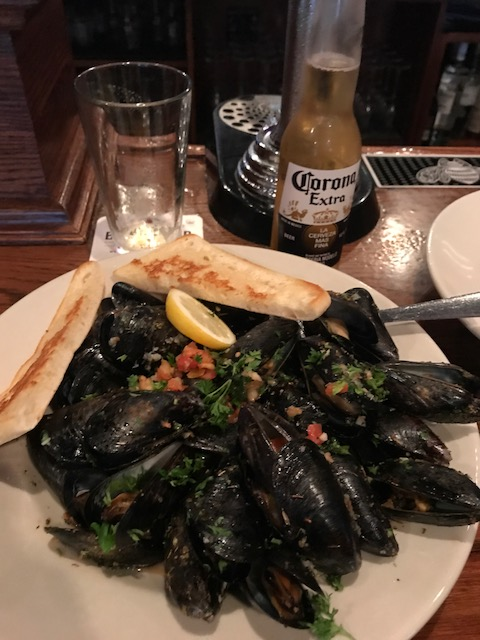 These mussels are wonderful.