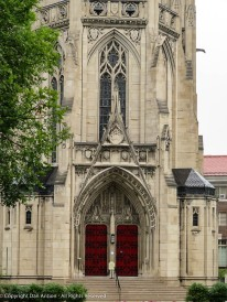 Main entrance - Heinz Chapel