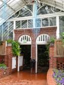 Doors between gardens.