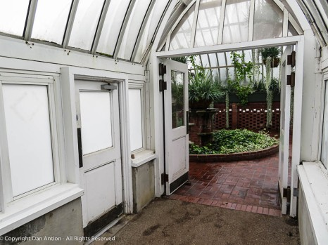 There are doors of all sizes and shapes throughout the gardens.