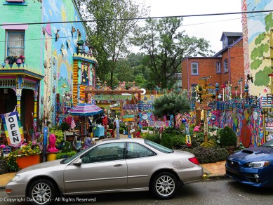 Randyland is one of the fun things to see in the Mexican War Historic District.