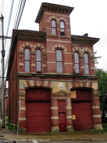A firehouse in the 1800's. Still a beautiful building.