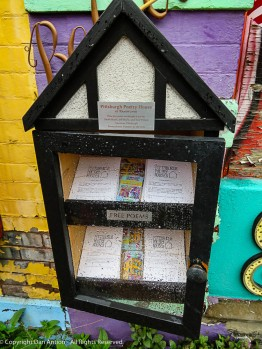 """Free Poetry"" - My kind of free small library."