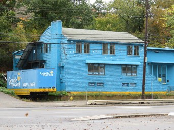 I had to include this building. I guess they like blue.