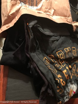 My lucky Pirates shirt is in that bag - just in time.