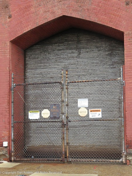 Look at how deeply set this doorway is.