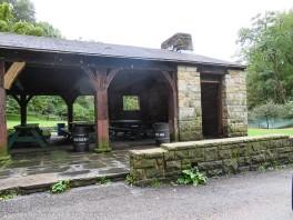 North side park pavilion.