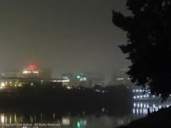 A Little morning fog.