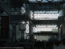 I always like this view from inside the Javits Center.