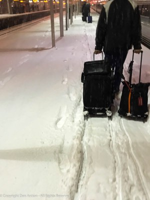 """""""I don't think that's a four-wheel drive suitcase, buddy."""""""