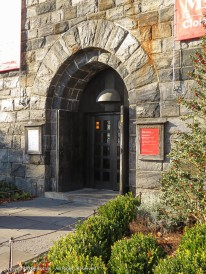 The main entrance to The Cloisters.