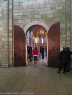 Norm also has a close-up view of these magnificent doors.