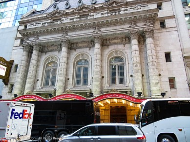The Lyceum is Broadway's oldest continually operating legitimate theater. Built by producer-manager David Frohman in 1903.