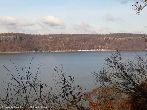 Palisades - this land (in New Jersey) was purchased by John D Rockefeller to prevent development and preserve the view from Ft Tryon.