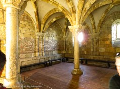 The Chapter House. A place for daily meetings in monasteries and convents.