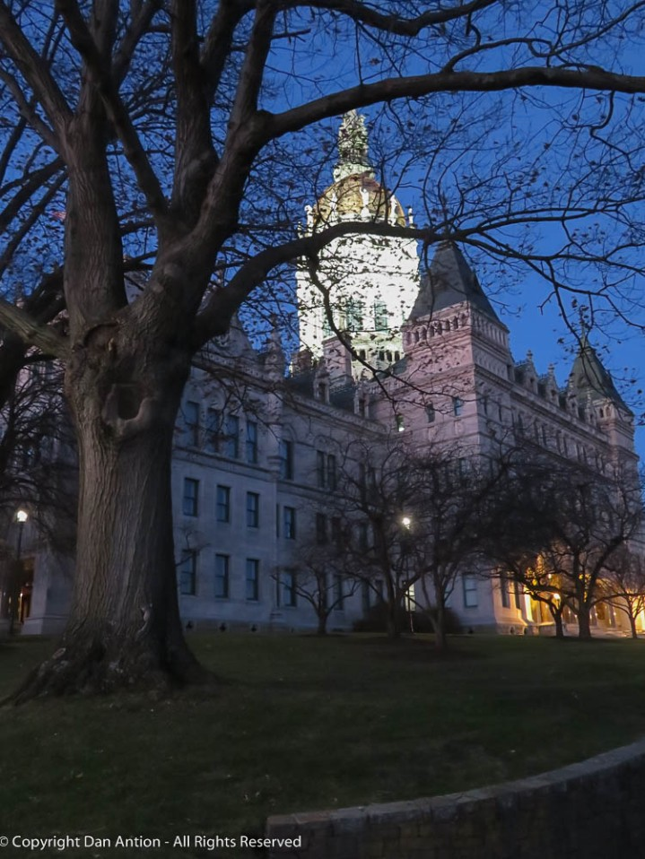 Early morning in Hartford.