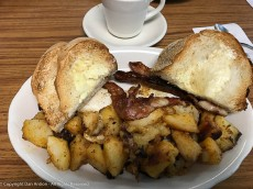 Breakfast at Allegro Cafe - sorry if it's making you hungry.