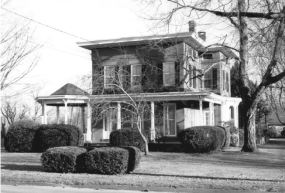 Horace H. Ellsworth House – 1873 Handsome example of Italianate style. Horace was one of Windsor's leading citizens. He was very active in business affairs in town. A man after my own heart, he owned a lumber yard.